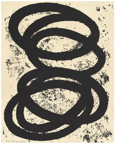 Richard Serra, 'Finally Finished', 2018
