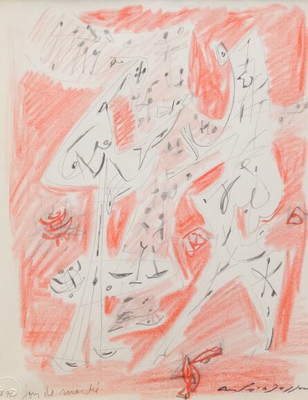 André Masson, 'Jour de marché', 1960