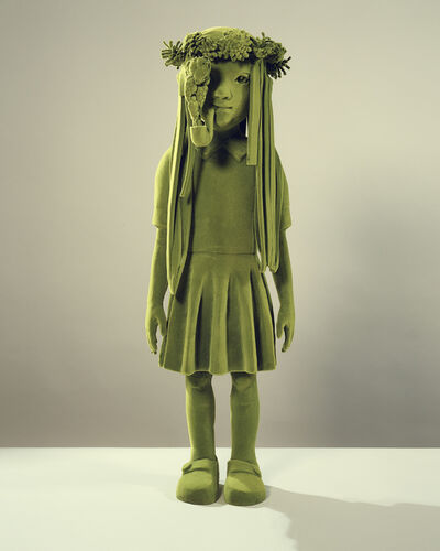 Kim Simonsson, 'Mossgirl With Pipe', 2020