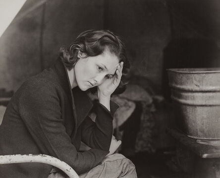 Dorothea Lange, 'Daughter of a Migrant Tennessee Coal Miner, Living in American River Camp Near Sacramento, California', 1936