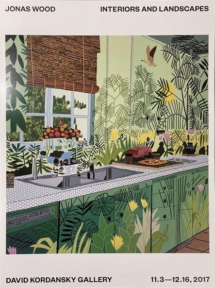 Jonas Wood, 'Jonas Wood Jungle Kitchen Exhibition Poster Interiors & Landscapes David Kordansky', 2017