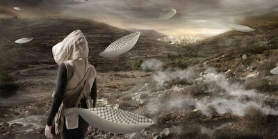Larissa Sansour, 'In the Future They Ate From the Finest Porcelain 2', 2014
