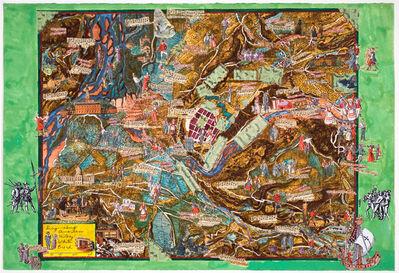 Joyce Kozloff, 'Sing-along American History: White Bread', 2004