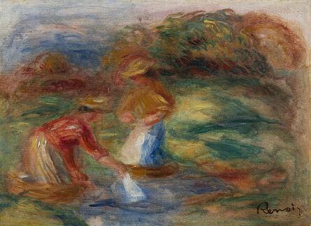 Pierre-Auguste Renoir, 'Deux laveuses - fragment', ca. 1908