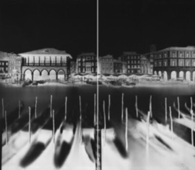 Vera Lutter, 'Campo Santa Sofia, Venice, XXVII: December 20, 2007', 2007