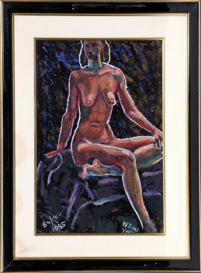 Konstantin Bokov, 'Seated Nude', 1995