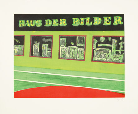 Peter Doig, 'Haus der Bilder', 2001