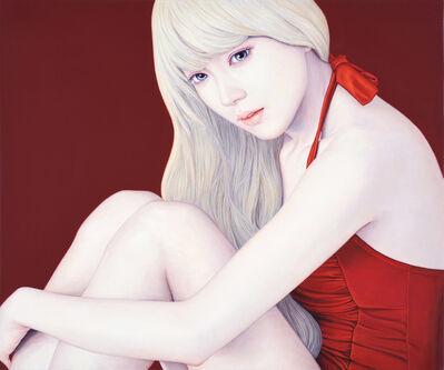 Kyungyup Kwon, ' Red moon', 2015