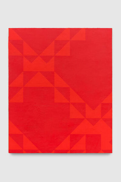 Mark Hagen, 'To Be Titled (Naphthol Red)', 2017