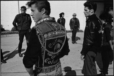 Danny Lyon, 'Renegade's funeral, Detroit, The Bikeriders Portfolio', 1966