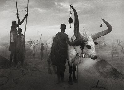 Sebastião Salgado, 'Dinka group at Pagarau, Southern Sudan, from the series Genesis', 2006