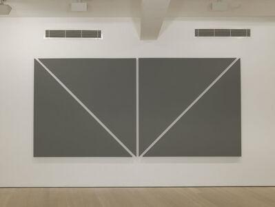 Alan Charlton, 'Two Diagonals', 2012