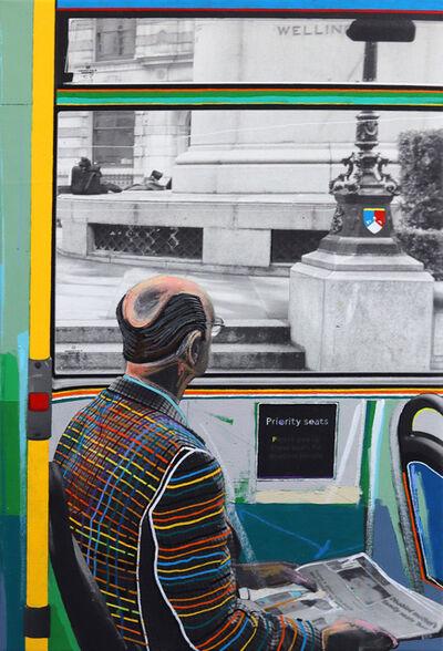 Fabio Coruzzi, 'On A London Bus', 2020
