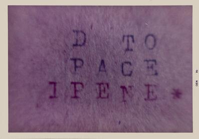 Vincenzo Agnetti, 'Macchina drogata (fragment)', 1970