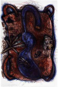 Elizabeth Murray, 'Blue Body', 1987