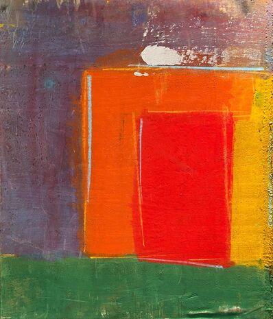 Jamali, 'Untitled, Geometric Abstract in Purple, Orange, Red, Yellow and Green', 2012