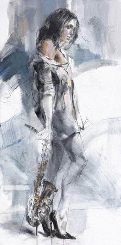 Anna Razumovskaya, 'Rehearsing Under The Moon ', 2021