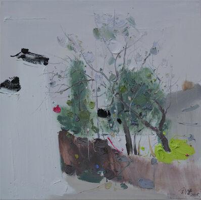 Jin Jie 金捷, 'White Wall and Green Woods 对出青白', 2015