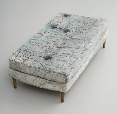 Guillermo Kuitca, 'No title (Bed)', 1992