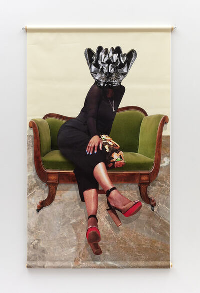 Willie Cole, 'Head over Heels (Bling)', 2019