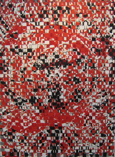 François Rouan, 'Queenqueg n°3', 1998-1999