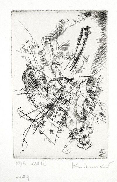 Wassily Kandinsky, 'Etching 1916 No. II', 1916