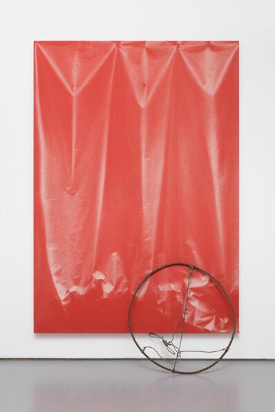 Ulla von Brandenburg, 'Folds and Circle', 2015