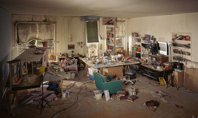 Lori Nix and Kathleen Gerber, 'Living Room', 2013
