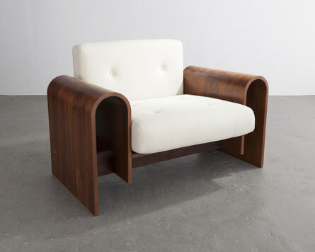 Oscar Niemeyer, 'Lounge chair for the SESC hotel, 1990', 2007