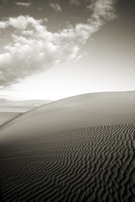 Cara Weston, 'Dune and Clouds, Death Valley'