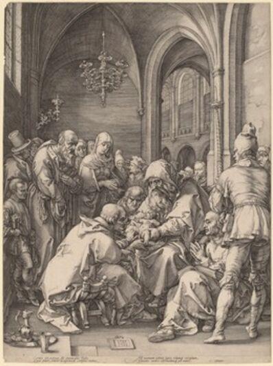 Hendrik Goltzius in the style of Albrecht Dürer, 'The Circumcision', 1594