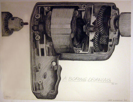 Lee Lozano, 'A Boring Drawing', 1969