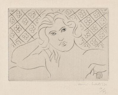 Henri Matisse, 'Torse, fond fleuri (Torso, with Flowery Background)', 1929