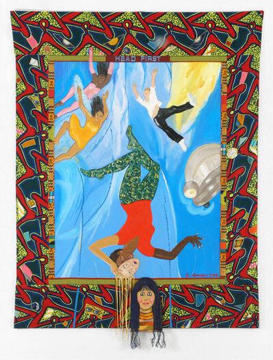 Emma Amos, 'Head First', 2006