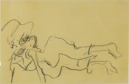 Willem de Kooning, 'Reclining Woman', 1965-1970