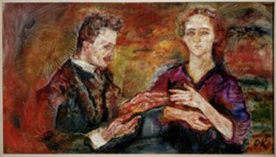 Oskar Kokoschka, 'Art Critic Hans Tietze and His Wife Erika', 1909