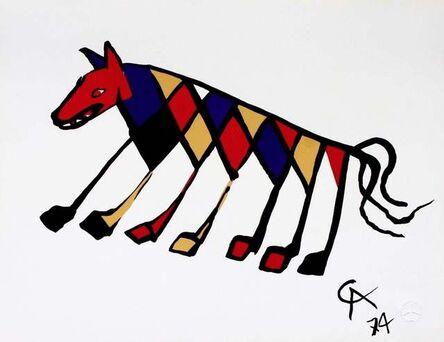 Alexander Calder, 'Beastie (Flying Colors Collection)', 1974