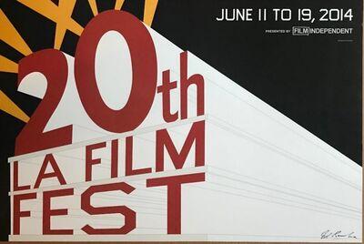 Ed Ruscha, '20th LA Film Fest (Hand Signed)', 2014