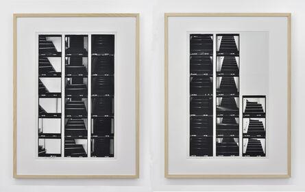 Norio Imai, 'Amount of light (toward 3rd floor)', 1976