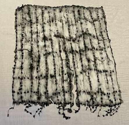 Ursula Von Rydingsvard, 'Untitled, String of knots', 2016