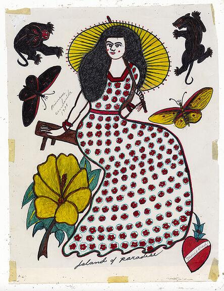 Rosie Camanga, 'Untitled (Island of paradise)', 1950-1980