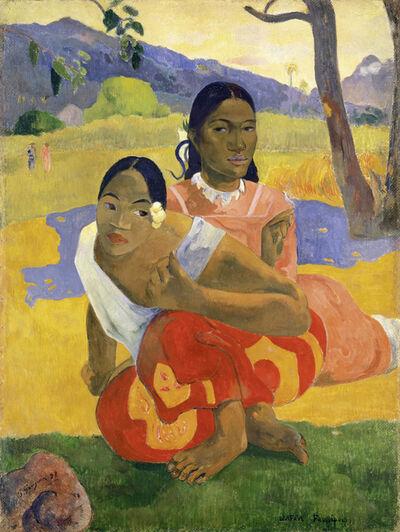 Paul Gauguin, 'Nafea faaipoipo ((When Will You Marry?)', 1892