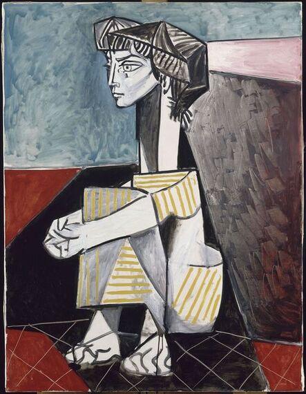 Pablo Picasso, 'Jacqueline aux mains croisés (Jacqueline With Crossed Hands)', 1954