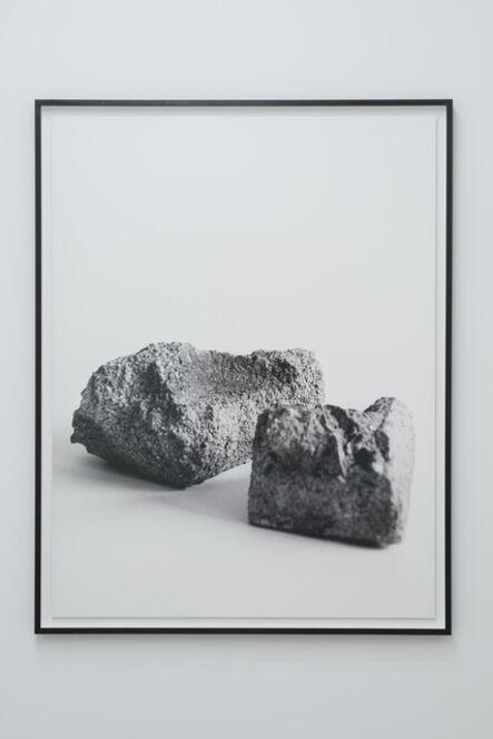 Dorit Margreiter, 'Bearing Masonry. Concrete Block (1923)/Serie 2', 2016