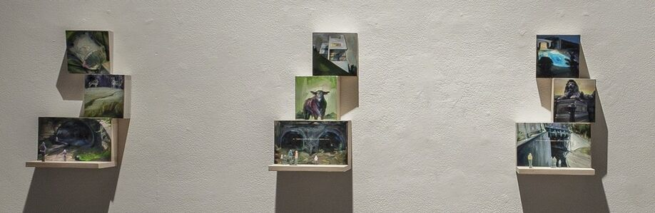 Gillian Iles, 'You can only get there from here - stacks (3 individual stack pictured here)', 2014-2015