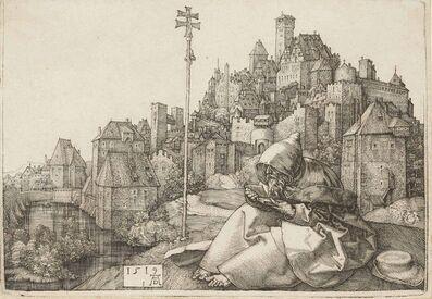 Albrecht Dürer, 'Saint Anthony reading (B. 58; M., Holl. 51; S.M.S. 87)', 1519