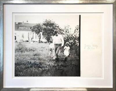 Joseph Beuys, 'In Ilverich roch es damals noch nach Gras', 1981