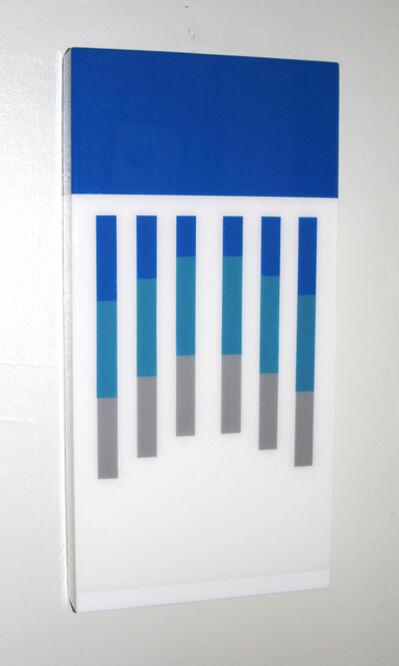 David E. Peterson, 'Blue, White & Grey Thermos 1970's', ca. 1970