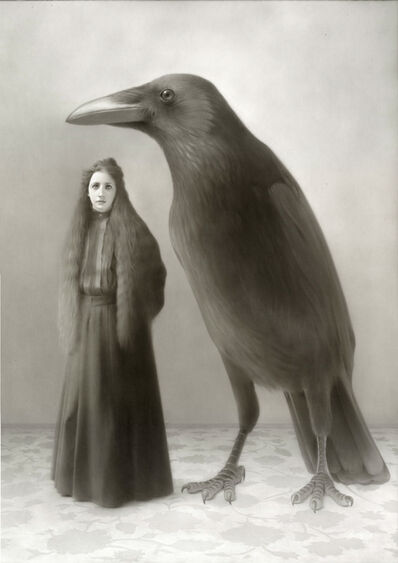 Travis Louie, 'Miss Christine and the Crow', 2016