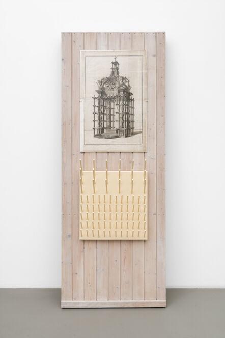 Vaclav Pozarek, 'Wall cut-out (Wandausschnitt)', 1988